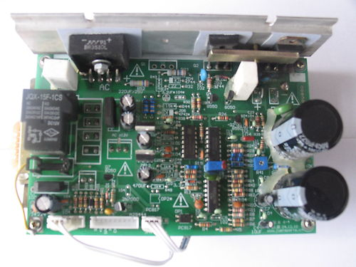 test and repair bh fitness motor control board